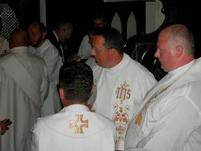 Photo: sakristie, pozvaní kněží a jáhni