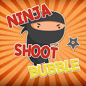 Ninja Bubble Shooter Crush