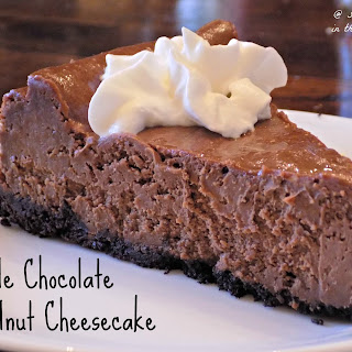 Double Chocolate Hazelnut Cheesecake