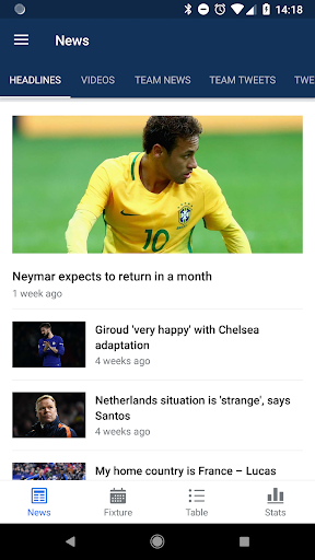 World Soccer Scores Live from Russia in 2018 7.7.3 screenshots 1