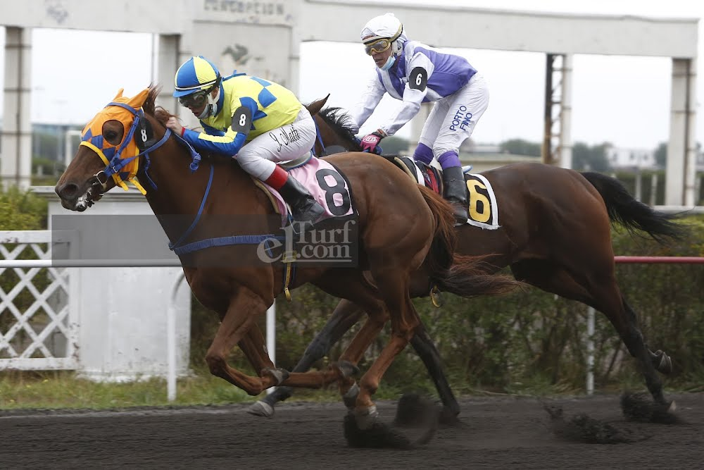Gran Hermana (Caesarion) gana Handicap (1000m-Arena-CHC).