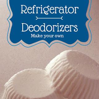 Homemade Refrigerator Deodorizers.