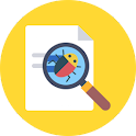 Bug detector scanner free icon