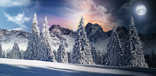 Christmas Snowfall Live Wallpaper Free Apps On Google Play