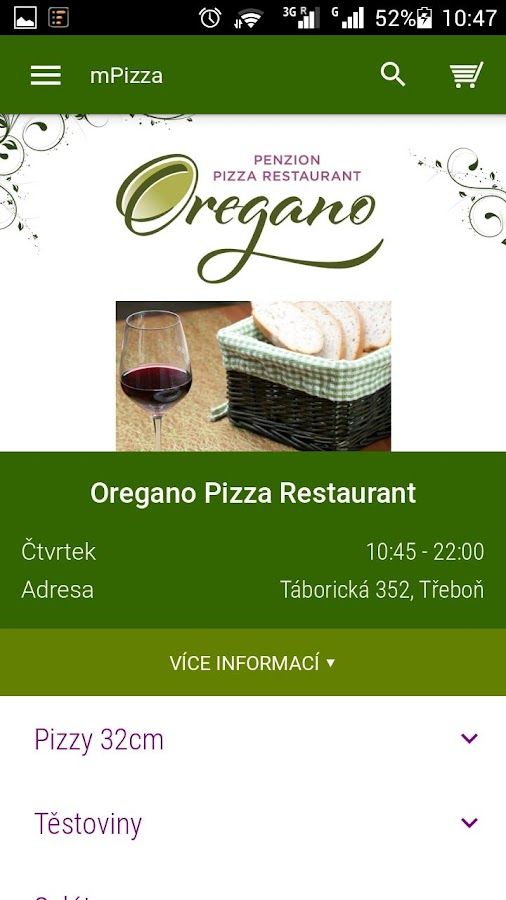 Oregano Pizza Restaurant- screenshot