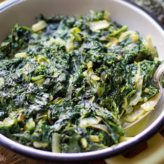 Creamed Spinach Sauce For Fish Recipes