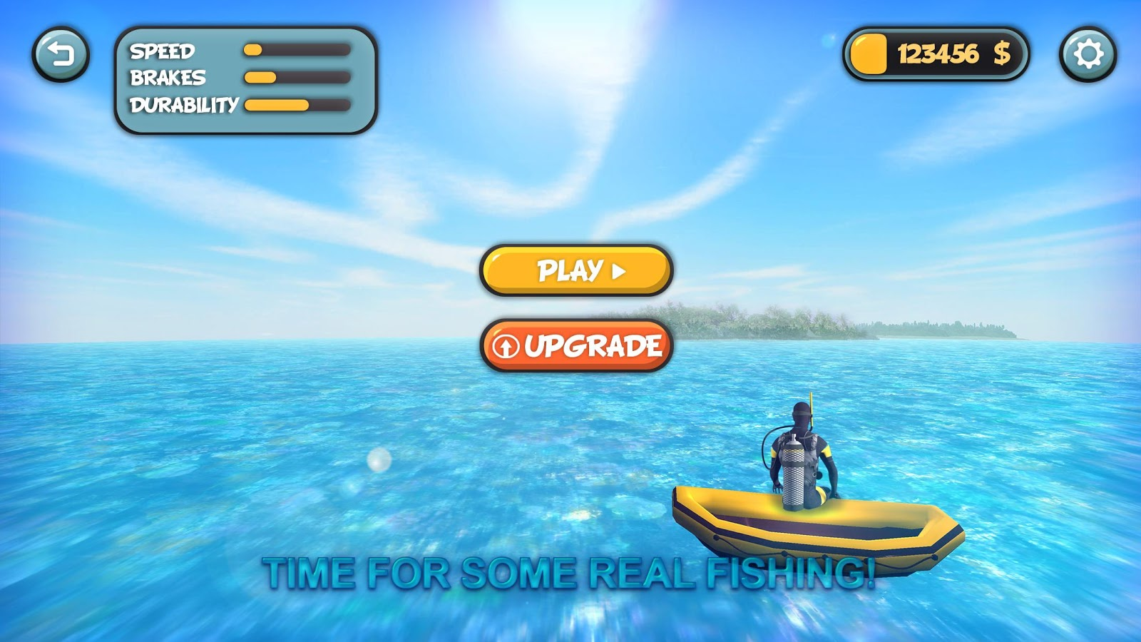 Spearfishing diver let 39 s fish android apps on google play for Free online fishing games