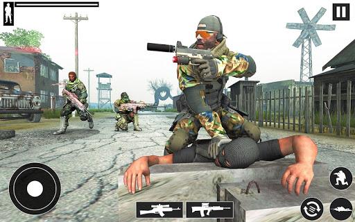 Real Commando Shooter: FPS Shooting Games Free apktram screenshots 5