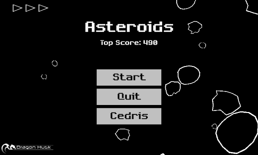 Asteroids- screenshot thumbnail
