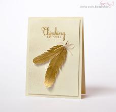 Photo: http://bettys-crafts.blogspot.de/2014/01/thinking-of-you.html