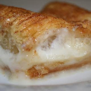 Apple and Cream Cheese Dessert.