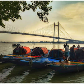 by Soumyadip Ghosh - Transportation Boats