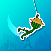 Crazy Stickman – Swing&Hook