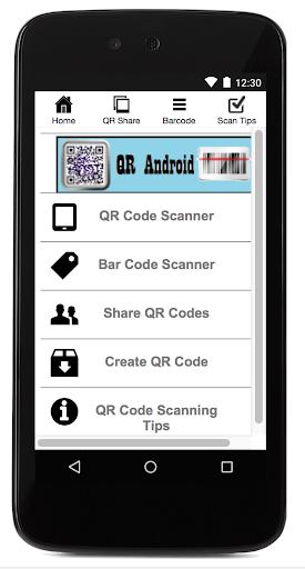QR Android 1.7 screenshots 1