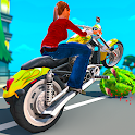 Bike Crushing Experiment Game for Kids icon