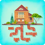Pipes Game - Free Puzzle for adults & kids Icon