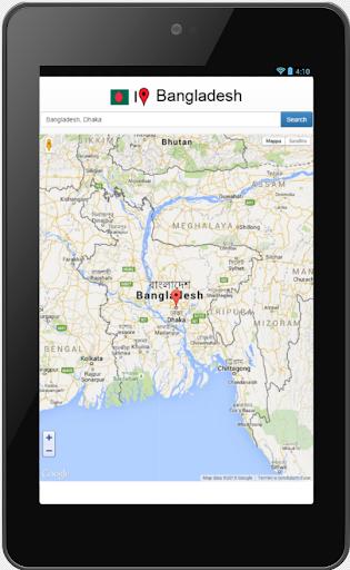Bangladesh map 0.0.8 screenshots 2