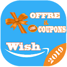 Coupons for Wish & Promo codes icon