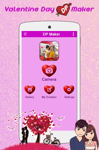 Valentine DP Maker 2018: Love Profile Maker 1.13 screenshots 1