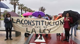 Protesta de los vecinos de El Toyo.