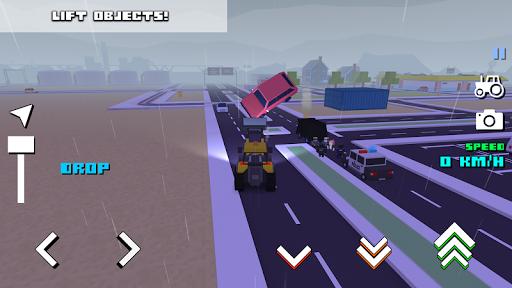 Blocky Farm Racing & Simulator - free driving game screenshots 16