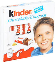 Kinder Chocolate Bars - 100g