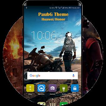 Theme PUBG for Huawei/Honor