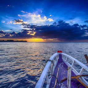Boat From Gili Trawangan by Einto R - Landscapes Travel