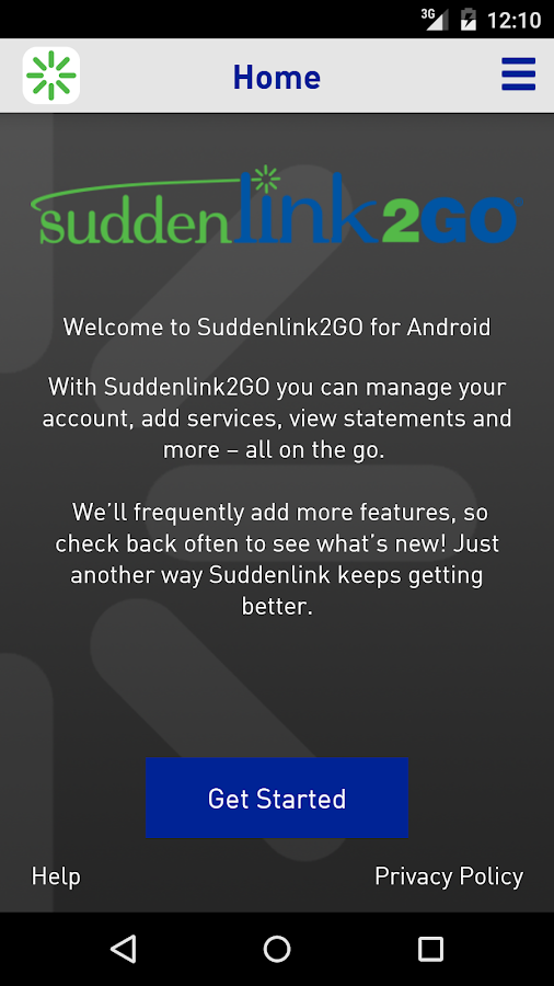 Suddenlink2GO- screenshot