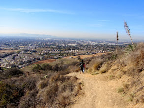 Photo: View southwest from Garcia Trail toward Rosedale