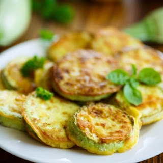 Batter Fried Zucchini.
