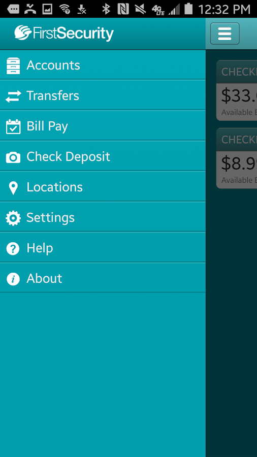 First Security Bank Check Balance
