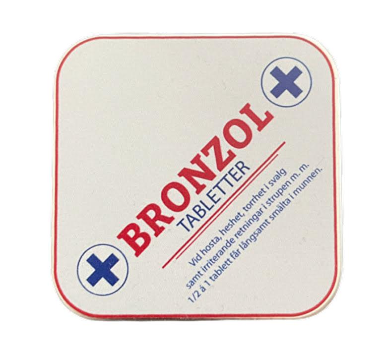 Bronzol halstabletter  - Bronzol
