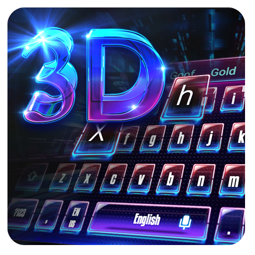 3D Laser Science keyboard