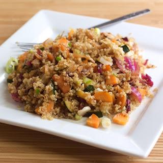 Quinoa Cabbage Salad.