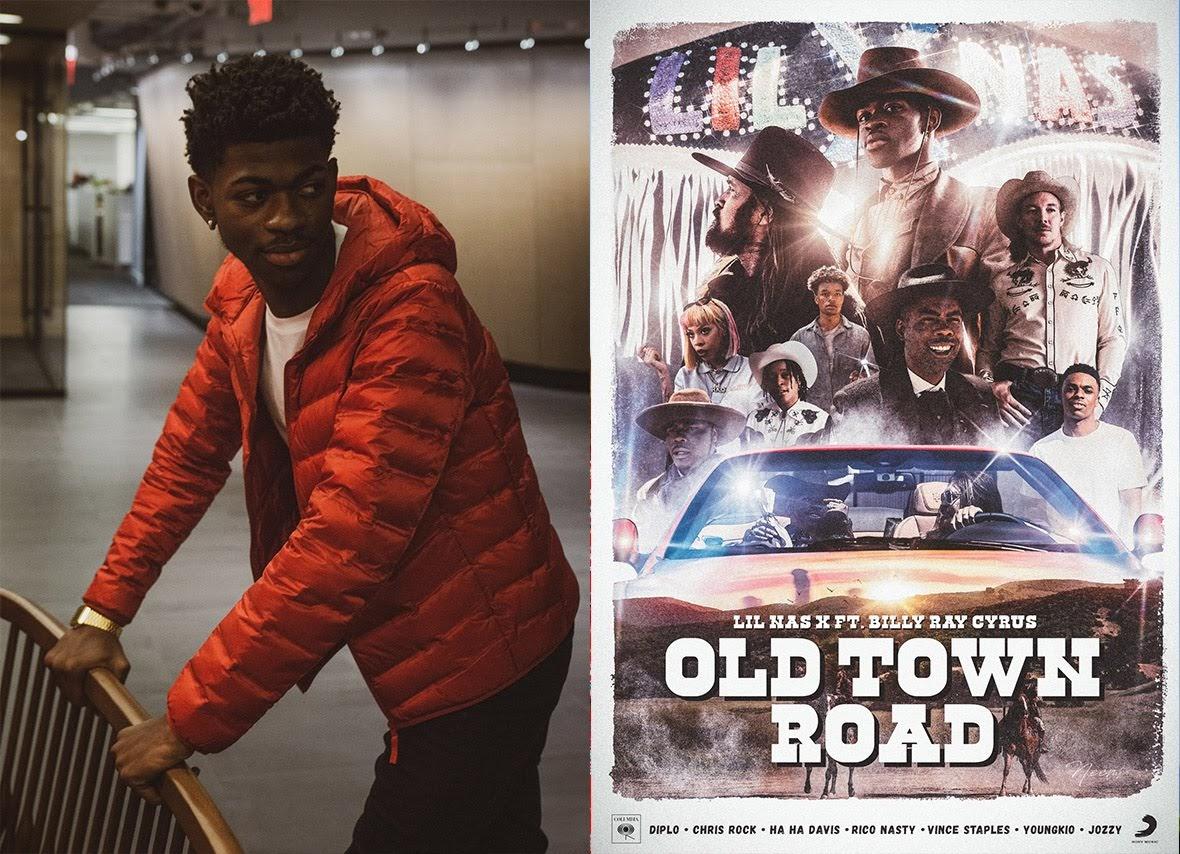 [迷迷音樂] 蟬聯13週告示牌冠軍   鄉村老街 Old Town Road 躍居史上最強嘻哈冠軍曲!