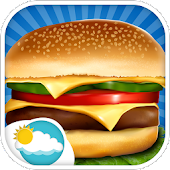 Sky Burger Maker Cooking fever