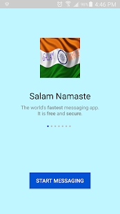 Salam Namaste - Indian Messenger - náhled
