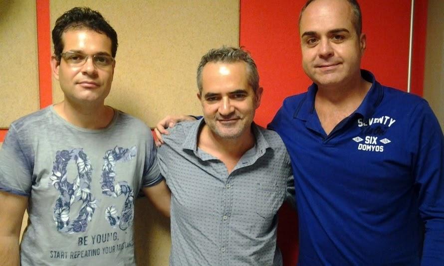 Hablemos de Fallas en UPV RTV. Programa nº 19 / 18-10-2017. Ángel Romero y Roberto Martín.