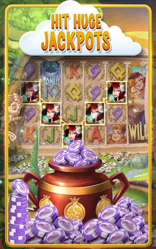 Magic rush heroes slot machine