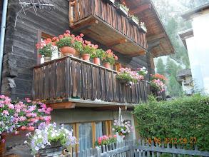 Photo: les balcons bien fleuris