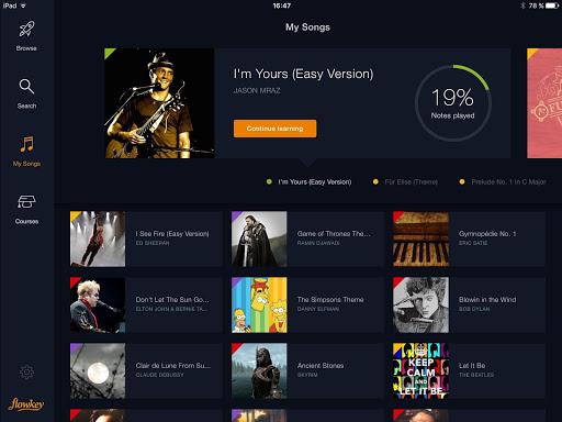 flowkey: Learn Piano 1.6.0 screenshots 12