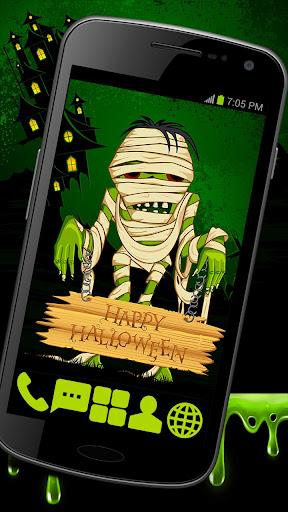 Creepy Mummy Theme GO ADW APEX