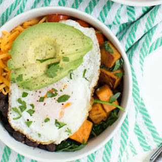 Sweet Potato Eggs Breakfast Recipes