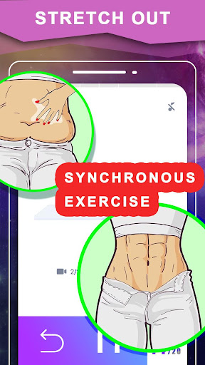 Screenshot for Female Flat Stomach Workout in United States Play Store