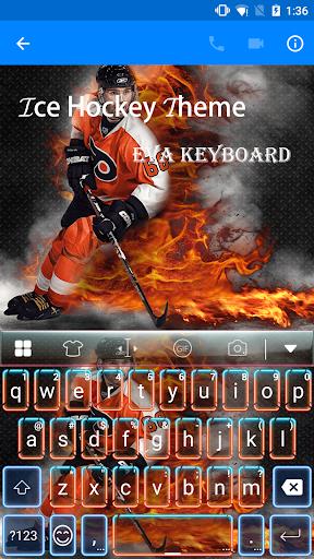 玩免費遊戲APP|下載Ice Hockey Eva Keyboard -Gif app不用錢|硬是要APP