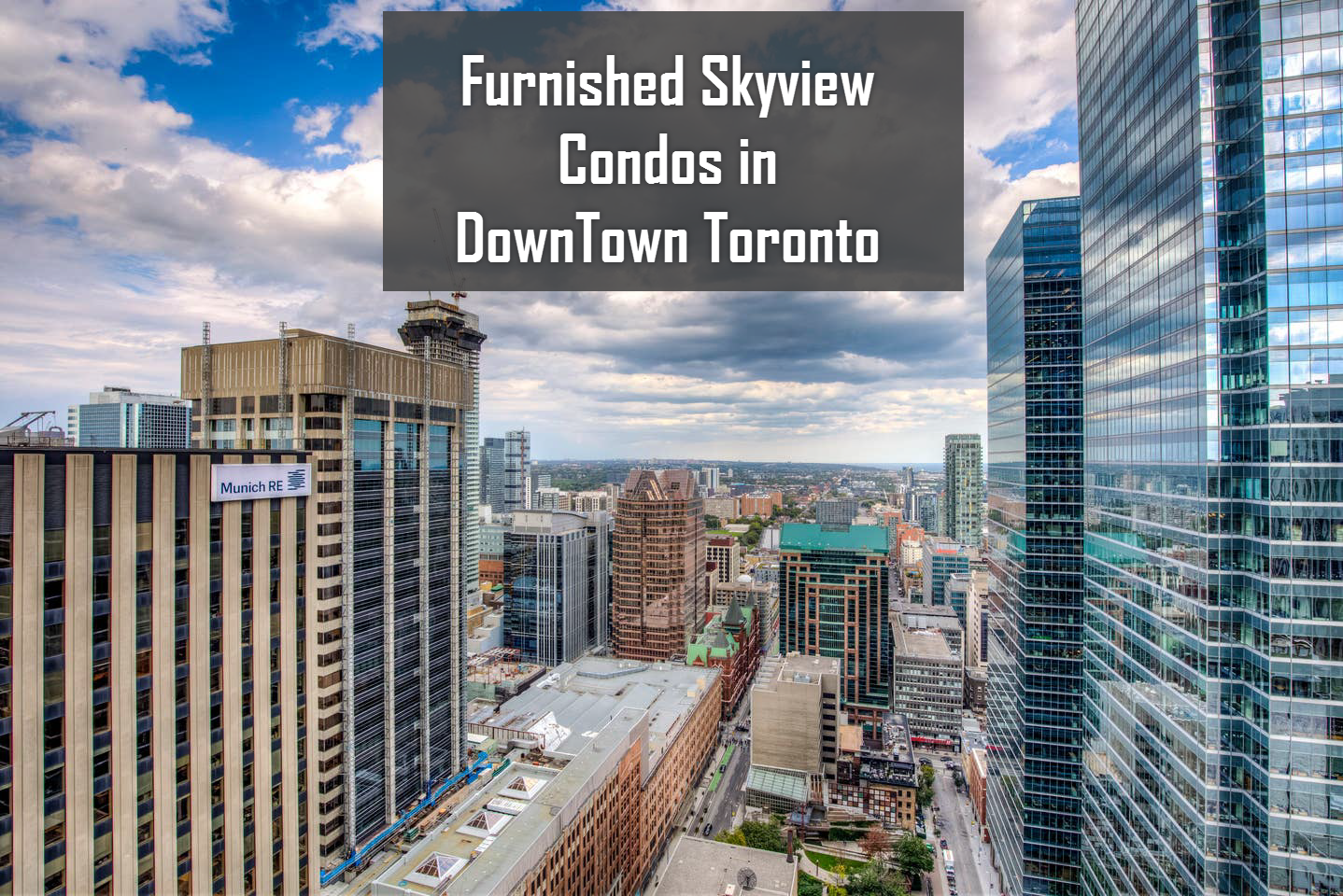 Furnished Sky-view condo in down town Toronto