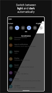 Automatic Dark Theme for Android 10 Screenshot