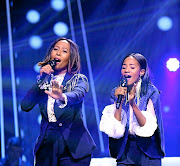 Mapula Mahlo and Fentse Nkabinde  belt out their harmony on The Voice.