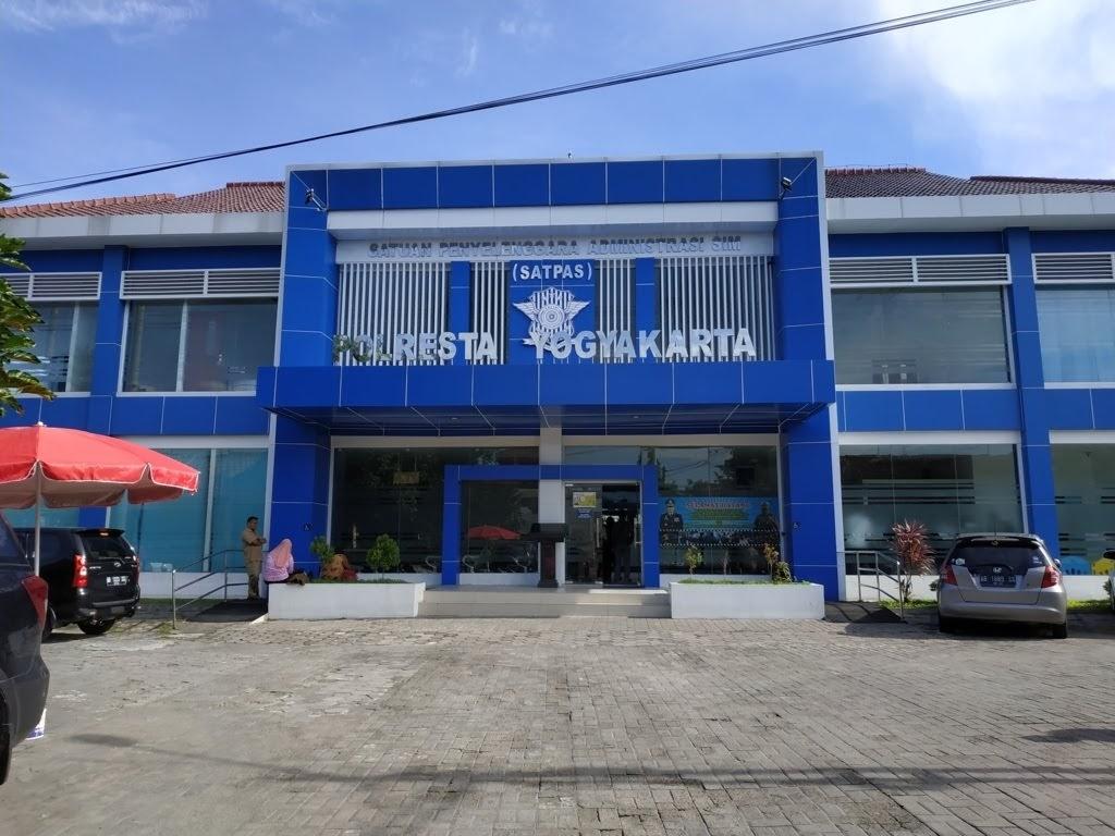 Gedung SATPAS Polresta Yogyakarta